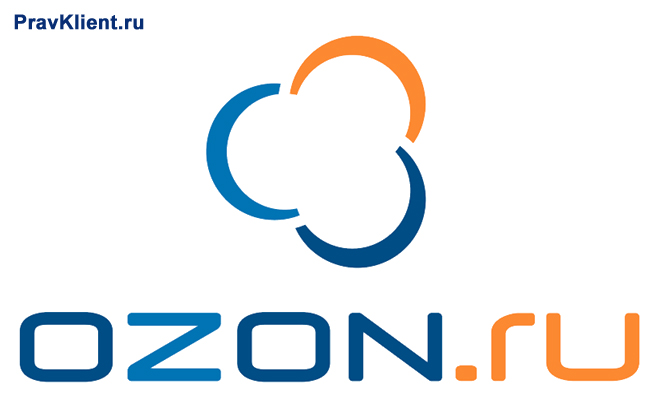 Логотип интернет-магазина Озон